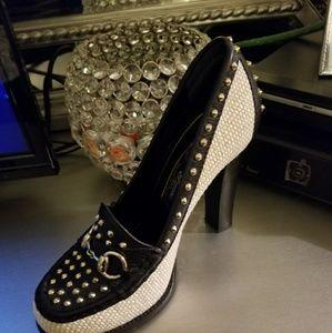 Gucci Alyssa loafer pump